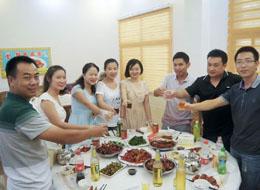 盛世环保员工活动聚餐