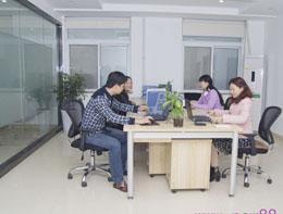 公司文员办公区域